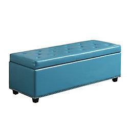 Hamilton 48-inch x 16.10-inch x 17.10-inch Ottoman in Blue