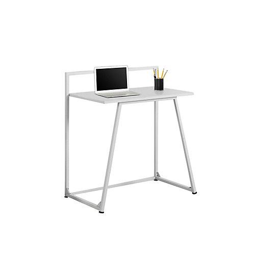 30-inch x 34-inch x 18-inch Standard Computer Desk in White
