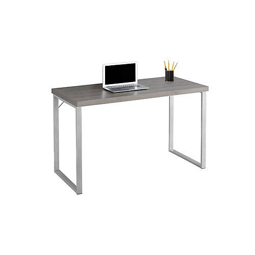 47-inch x 30-inch x 24-inch Standard Computer Desk in Dark Taup