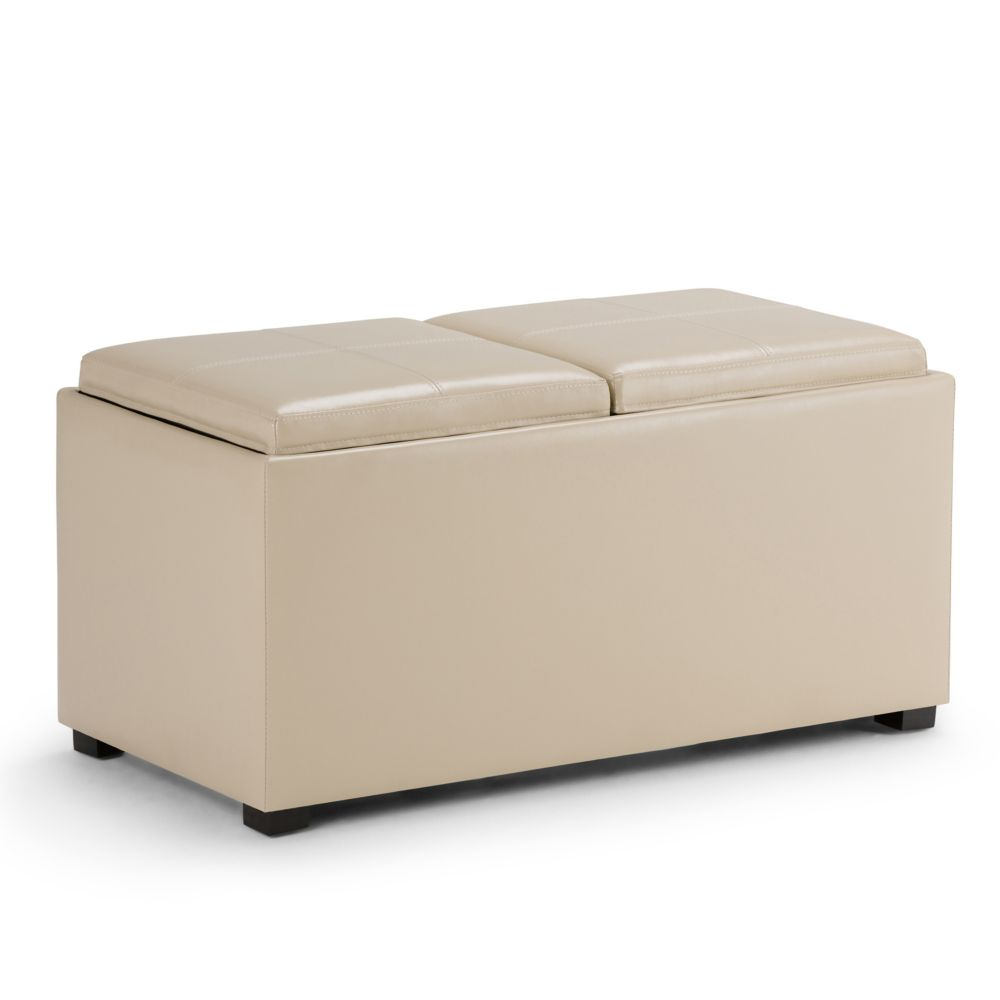 Avalon 5 Piece Rectangular Storage Ottoman