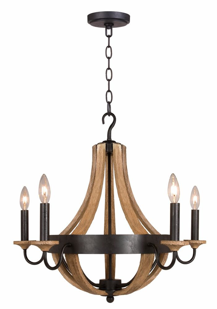 Home Decorators Collection Led Chandelier The Home Depot Canada