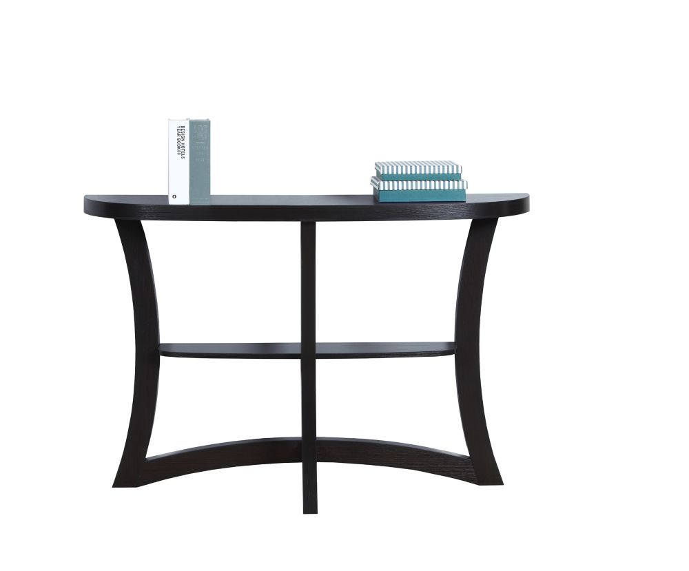 Accent Table - 47 Inch L / Cappuccino Hall Console