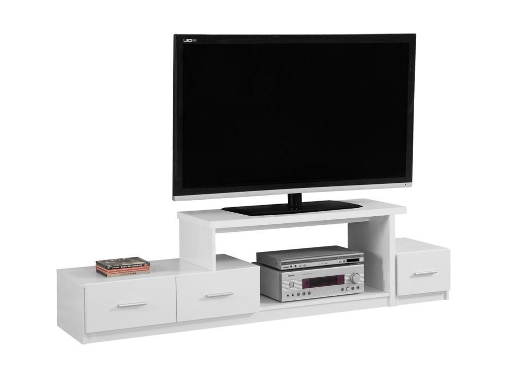 """Meuble Tv - 72""""L / Blanc"""