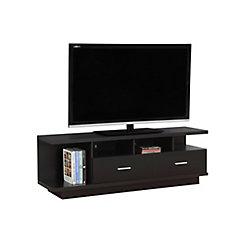 Monarch Specialties Tv Stand - 60 Inch L / Cappuccino