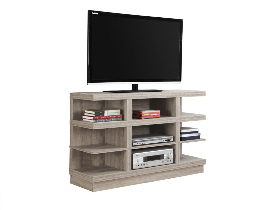 "Meuble Tv - 48""L / Taupe Fonce"
