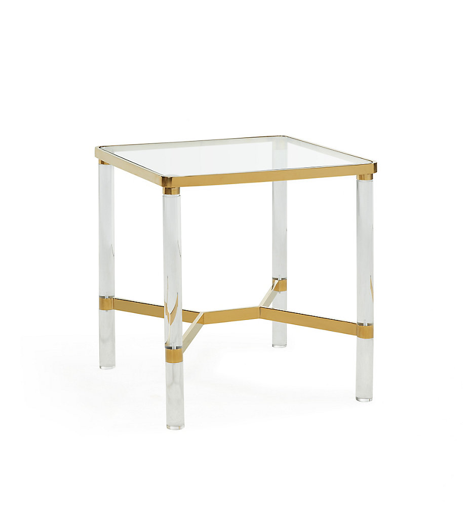 Morelia-Accent Table-Gold