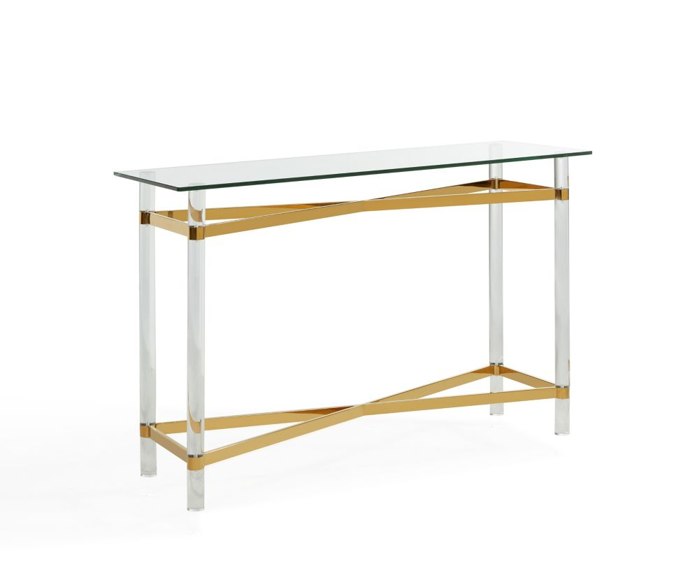 Morelia-Console Table-Gold