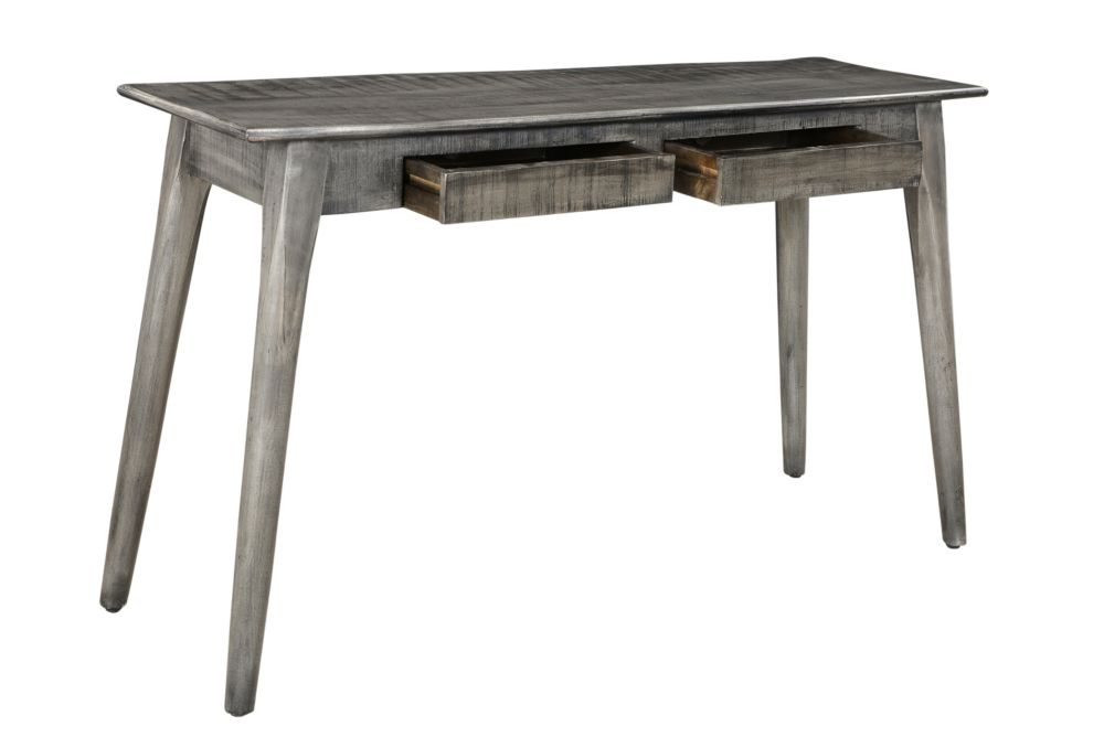 Tal-Console-Distressed Grey