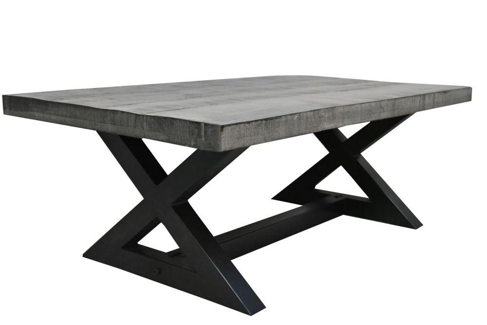 Zax-Coffee Table-Distressed Grey