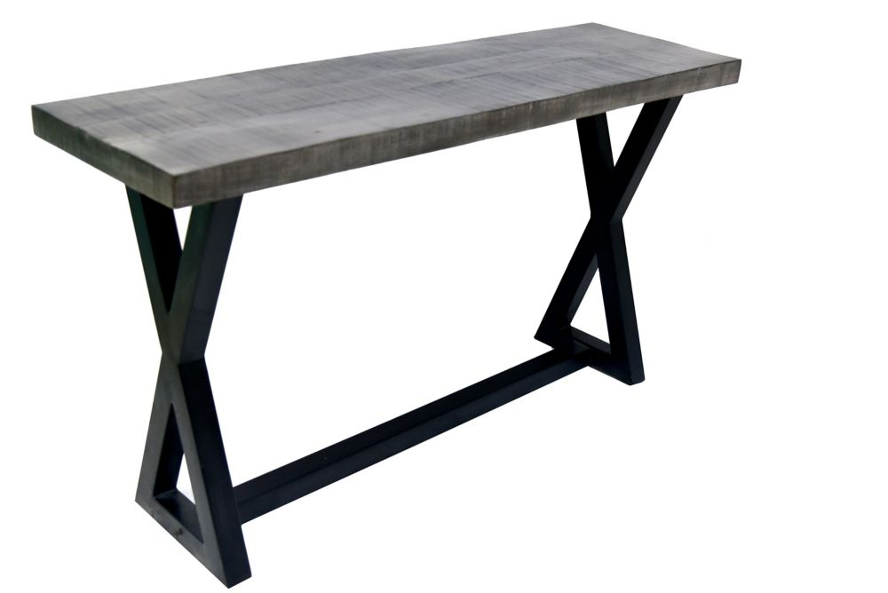 Zax-Console-Distressed Grey