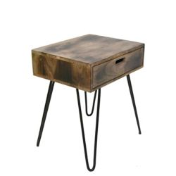 !nspire Jaydo-Accent Table-Natural Burnt