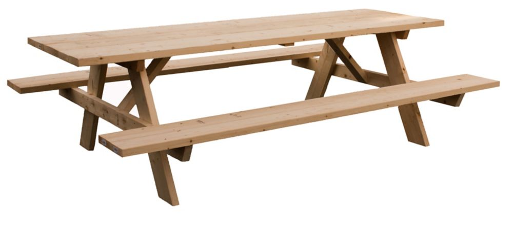 Adwood Manufacturing Ltd Jumbo 8 Feet Picnic Table