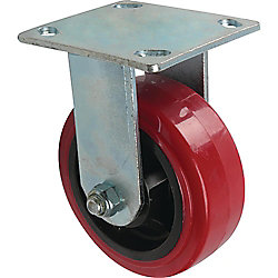 Everbilt 5 inch Polyurethane Rigid Caster with 750 lb. Load Rating