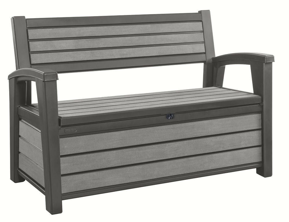 Keter Brushwood Patio Storage Bench