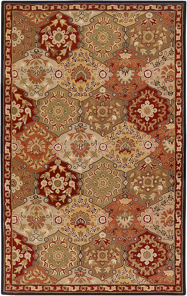 Cambrai bouille 7 ft. 6 in. X 9 ft. 6 in. tapis interieur