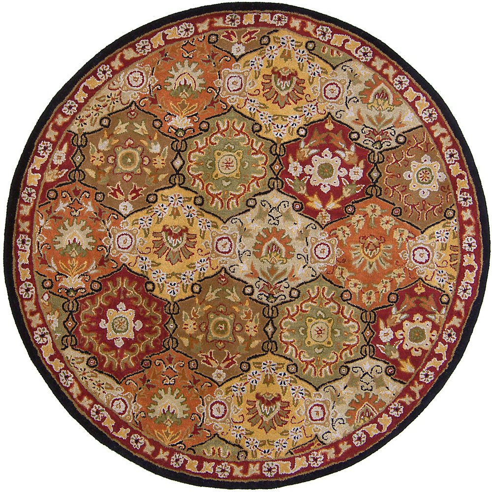 Cambrai bouille 8 ft. X 8 ft. rond tapis interieur