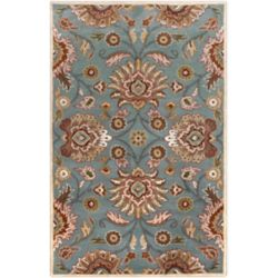 Home Decorators Collection Cambrai Blue 2 Feet x 3 Feet Indoor Area Rug