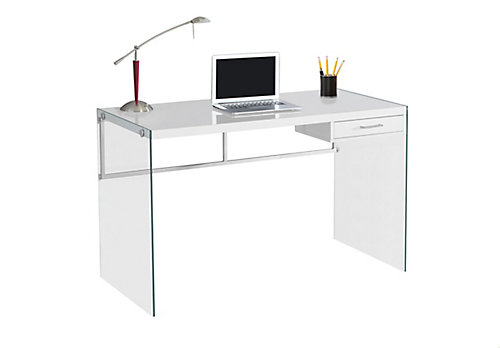 48 Inch X 30 24 Standard Computer Desk In White