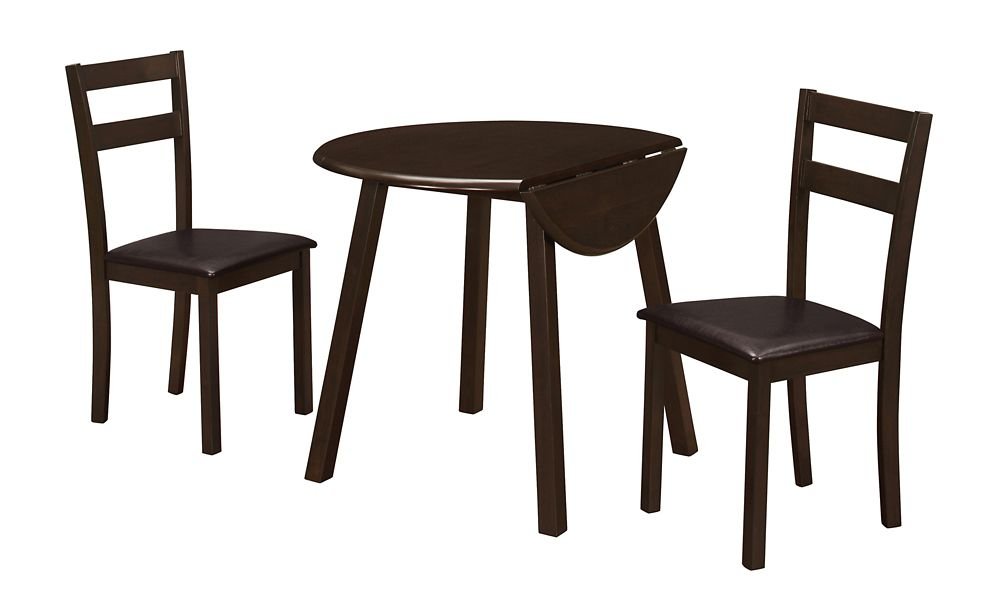 Bistro Dining Room Sets In Cappuccino