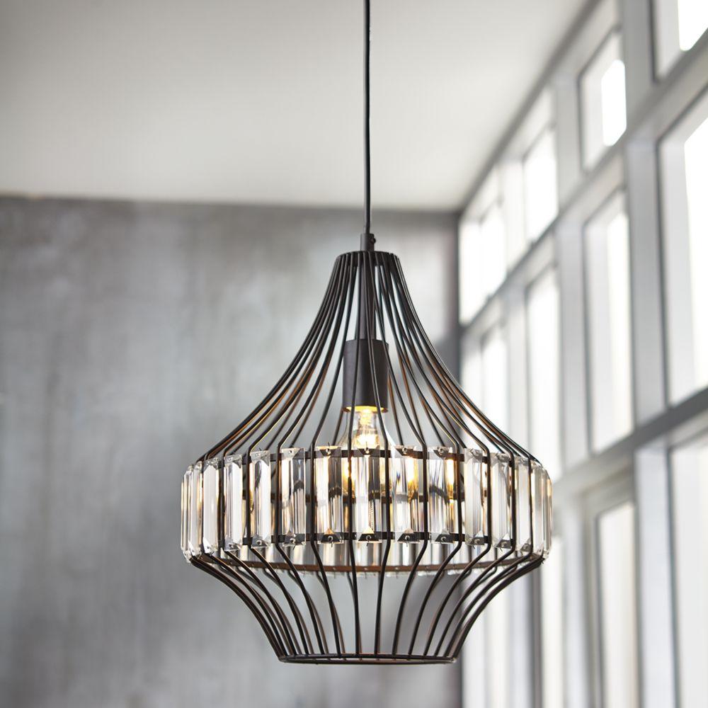 luminaires suspendus home depot canada. Black Bedroom Furniture Sets. Home Design Ideas