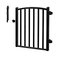 AQP 4H x 3W Pool Gate - BLK