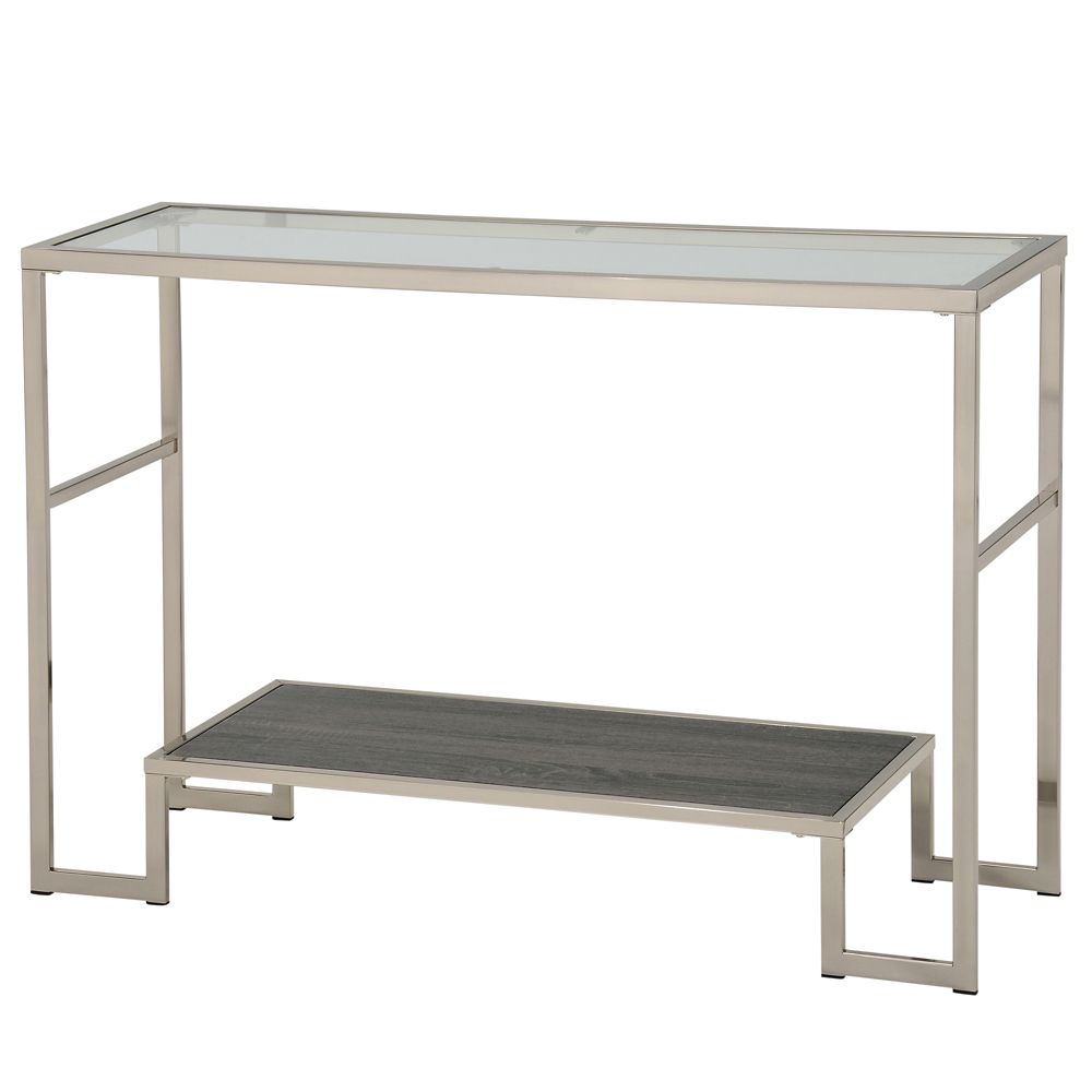 Atticus-Console Table-Grey Reclaimed