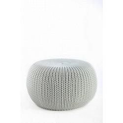 Keter Cozy Seat Patio Chair in Smokey Light Grey