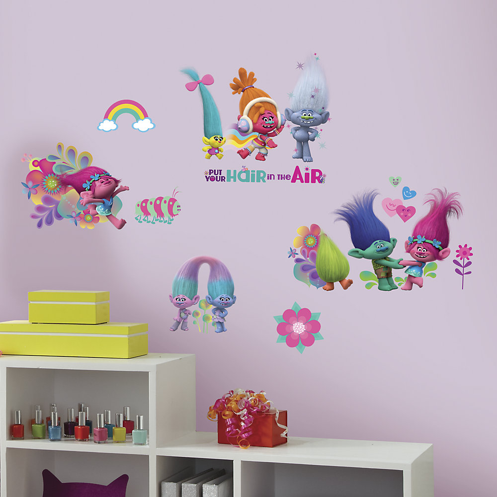 Trolls Wall Decals