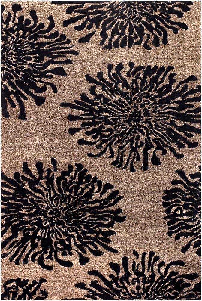 Home Decorators Collection Aelandra Black 9  ft. x 13  ft. Indoor Area Rug