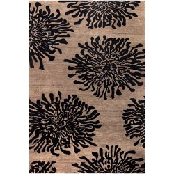 Home Decorators Collection Aelandra Black 9  ft. x 13  ft. Indoor Area Rug