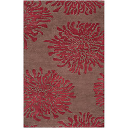 Home Decorators Collection Aelandra Mocha 2  ft. x 3  ft. Indoor Area Rug