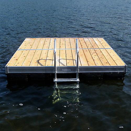 Aluminum Swim Raft 10 ft x 10 ft