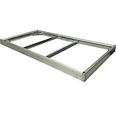 Kit de quai QPF-495, 5 pi x 10 pi, aluminium