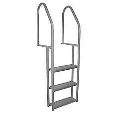 Aluminum 3-Step Dock Ladder