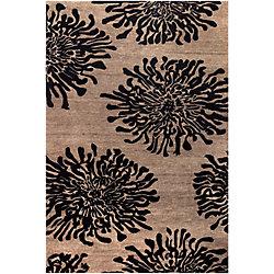 Home Decorators Collection Aelandra Black 5  ft. x 8  ft. Indoor Area Rug