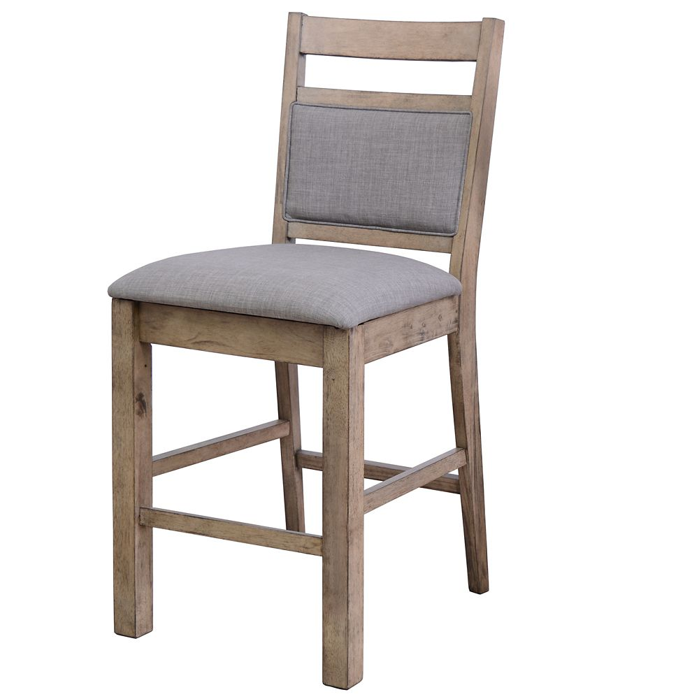 """Melville-26"""" Counter Stool-Grey-Set of 2"""