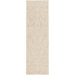 Home Decorators Collection Milton Butter 2 Feet 6 Inch x 8 Feet Indoor Runner