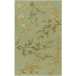 Home Decorators Collection Disa Moss 2  ft. x 3  ft. Indoor Area Rug