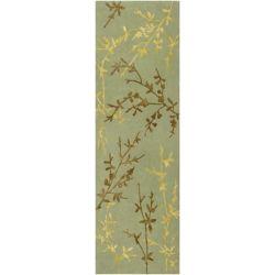 Home Decorators Collection Disa Moss 2  ft. 6-inch x 8  ft. Indoor Runner