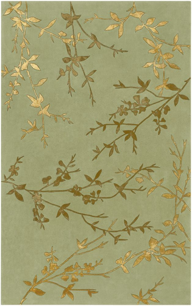 Home Decorators Collection Disa Moss 8  ft. x 11  ft. Indoor Area Rug