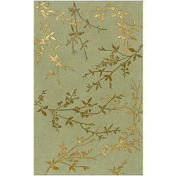 Home Decorators Collection Disa Moss 9  ft. x 13  ft. Indoor Area Rug