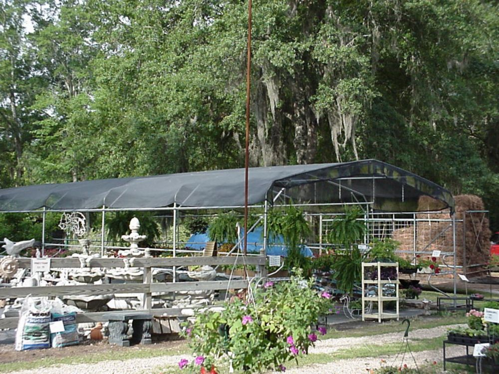 Riverstone 10  Feet  X 10  Feet  Shade Cloth System With Corner Grommets - 55% Shade Creation