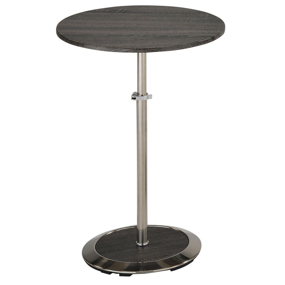 Nero Li-Accent Table-Grey Reclaimed
