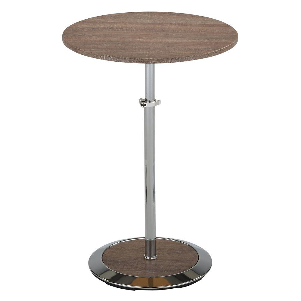 Nero Li-Accent Table-Reclaimed