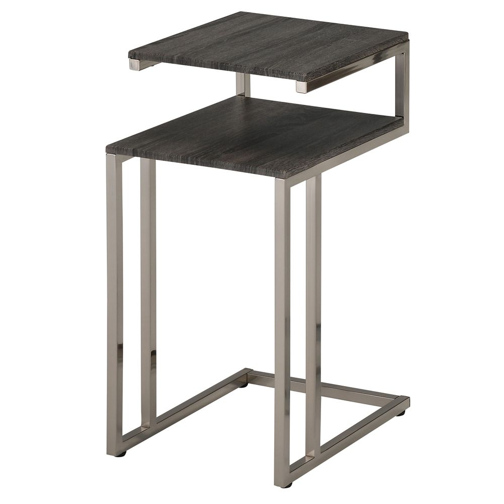 Knox table d'appoint - Recupere Gris