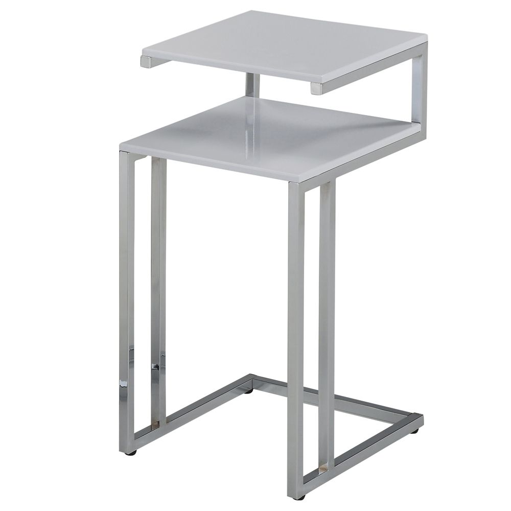 Knox-Accent Table-White