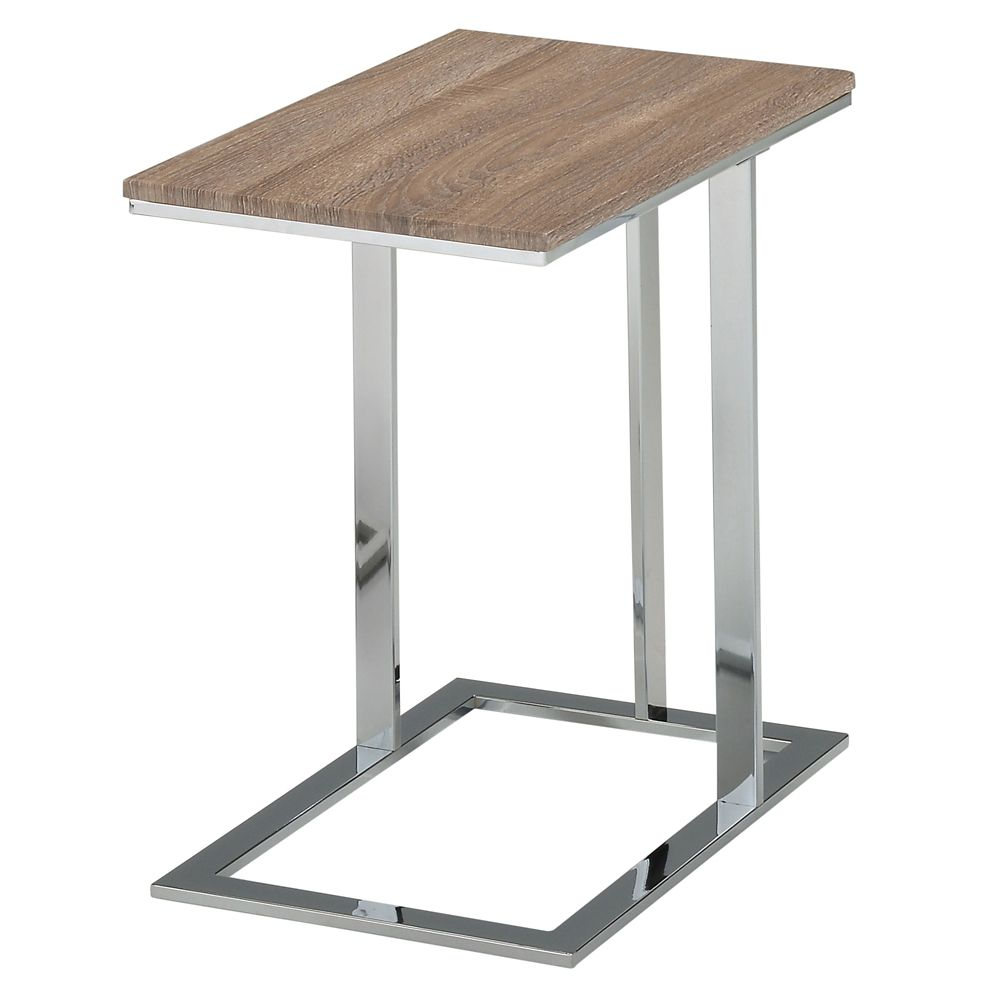 Mod Li-Accent Table-Grey Reclaimed