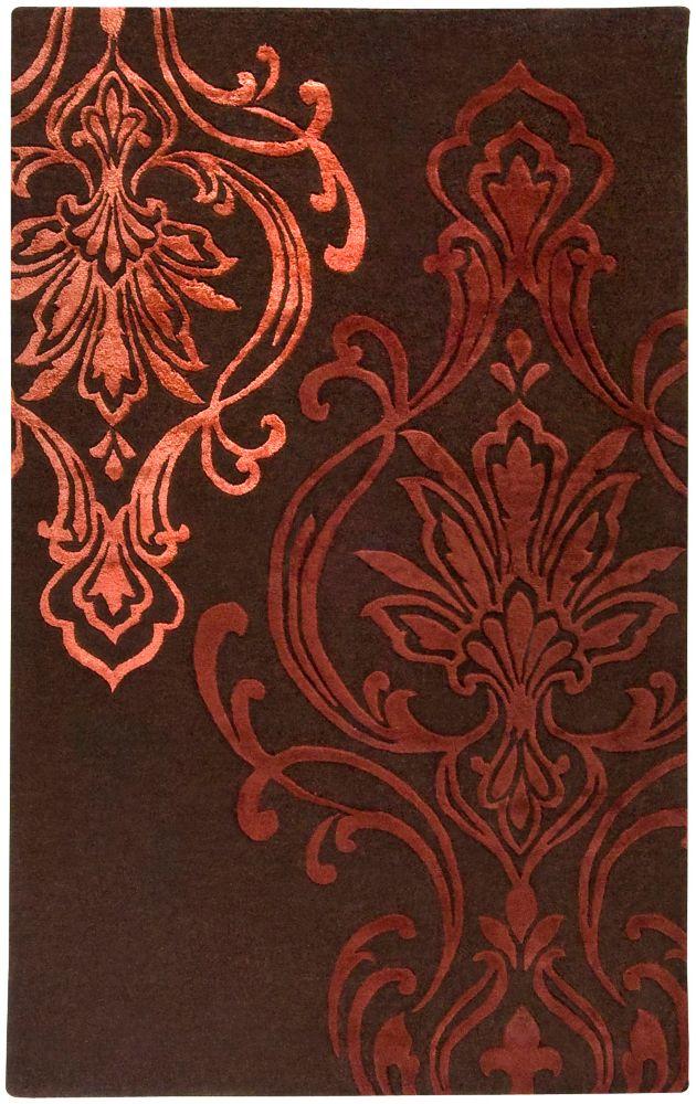 Home Decorators Collection Clovis Chocolate 8 Feet x 11 Feet Indoor Area Rug