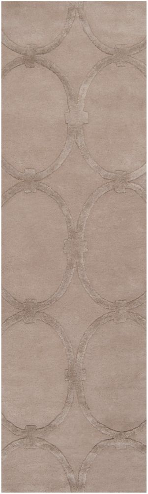 Home Decorators Collection Dalaro Taupe 2 Feet 6 Inch x 8 Feet Indoor Runner