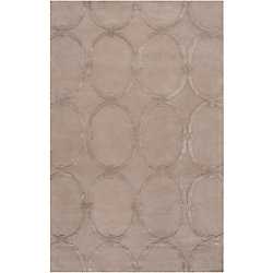 Home Decorators Collection Dalaro Taupe 5 Feet x 8 Feet Indoor Area Rug